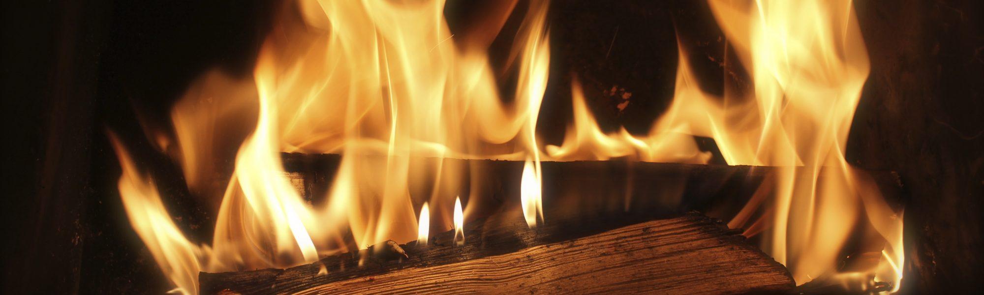 Een houtkachel in je huis