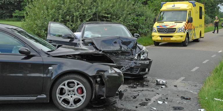 Een auto ongeluk